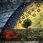 Así se veía el Universo en la Antigüedad y en la edad media  By Heikenwaelder Hugo, Austria, Email: heikenwaelder@aon.at, www.heikenwaelder.at [CC-BY-SA-2.5], via Wikimedia Commons