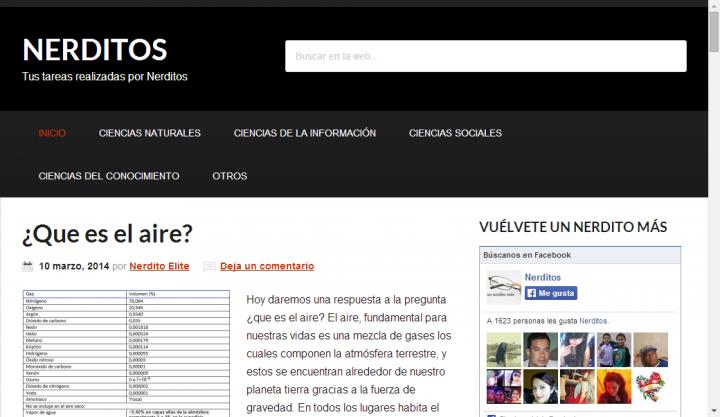 Que es una pagina web nerditos for Que es una pagina virtual