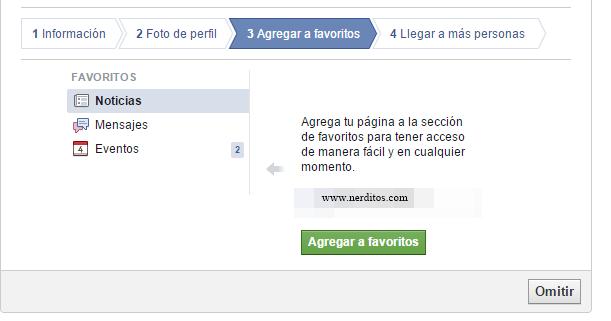 como crear pagina en facebook